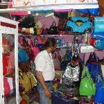 Handbags at a shop