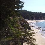 The Private Beach of Whale Watch Inn