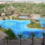 pool and water park