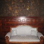 Couch in library