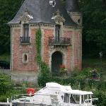 Boot mit Turm