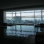 Infiniti Pool with view of Mexico City