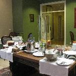 beackfast room hotel Rector