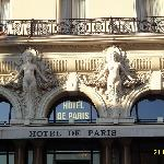 AWESOME VIEW OF THE HOTEL DE PARIS BY BEAUTIFUL DAY.