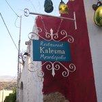 Kalesma sign
