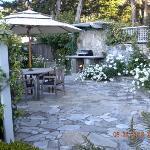 Outdoor grill and patio