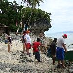 Off for an island tour of Limasawa.
