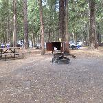 Camp #185. You can see the table, firepit, and the bear-proof food locker. There was actually do