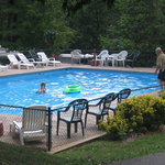 The Kamp swimming pool