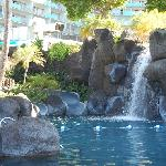 Paradise Pool with waterslides