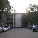 die Blöcke, in denen die Ferienwohnungen untergebracht sind