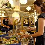 großes Abendbuffet