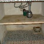 Compartimento sotto il lavandino
