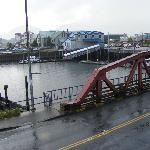 View of Ketchikan Creek from our room