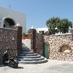 Hotel Babis Main Entrance