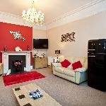 """Our lounge offers a well stocked """"Honesty Bar"""" and a 42"""" Plasma T.V"""
