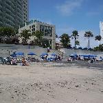 Am Strand bei Ebbe
