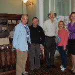 Jewish Heritage Tour, meeting with the Cantor, 2009