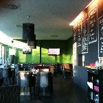 Blick in den Restaurantbereich