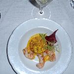 First Course: House Crayfish Salad