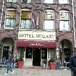 Mozart Hotel Front