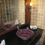 pool access bathroom