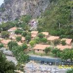 villaggio dall'alto