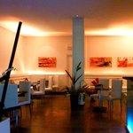 Inside Restaurant Pearl