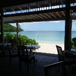 Indigo On The Beach restaurant (look, no walls!)