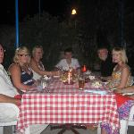 Dining in the garden at Kyrenia Tavern
