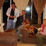 Kyrt, Roelof and the gang with Joan