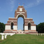 Thiepval in late June