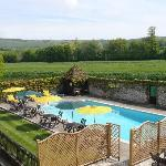 Outdoor swimming pool, open from May to September
