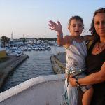 mami y paula en el lago