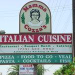 Mama Cozza's Sign