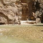 Weg ins Wadi