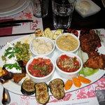 main dish (vege) at Tike