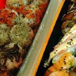 Korean sushi (not at the hotel)