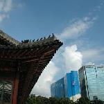 Old Seoul meets new Seoul