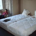 "main bedroom in ""family room"""