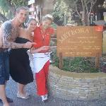 Jef, me & Princess Irene
