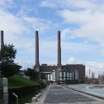 Zufahrt zum Ritz Carlton Wolfsburg