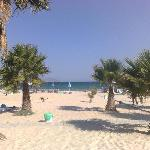 Spiaggia dell'albergo