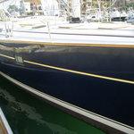 A sleek sailboat!