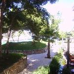 vista parziale del ristorante principale dalla nostra camera