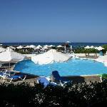 Una delle piscine centrali