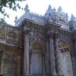 DOLMA BACE PALACE...SHORT TAXI RIDE FROM HOTEL