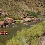 Whitewater rafting is another popular activity in the area
