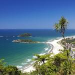 View from the top of Mount Maunganui, Bay of Plenty