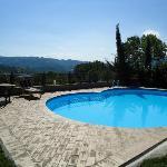 La piscina con panorama